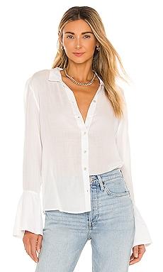 Tay Long Sleeve Woven Blouse AMUSE SOCIETY $54 BEST SELLER