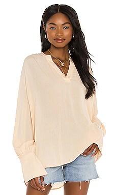 Sun Spirit Long Sleeve Woven Top AMUSE SOCIETY $53