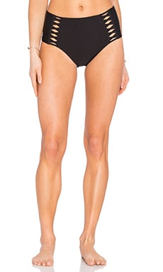 AMUSE SOCIETY Raquel Solid High Rise in Black Sands