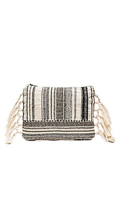 AMUSE SOCIETY Sunset Clutch in Stripe