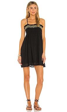 Rosa Smocked Mini Dress ANAAK $263