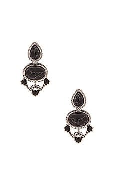 Anarchy Street The Liz Taylor Drop Earring in Silver