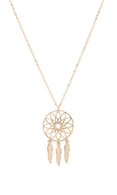 Anarchy Street Life Is But A Dream Necklace in Gold