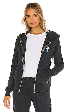 Bolt Zip Hoodie Aviator Nation $173 BEST SELLER