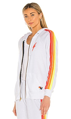 Bolt Embroidery Classic Hoodie Aviator Nation $196