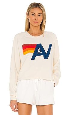 Logo Crew Sweatshirt Aviator Nation $165