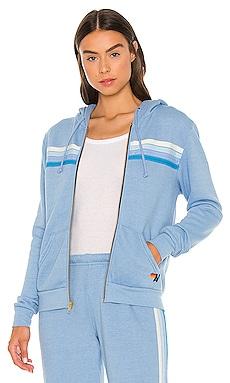 X REVOLVE 4 Stripe Hoodie Aviator Nation $180