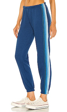 4 Stripe Sweatpant Aviator Nation $156 NEW
