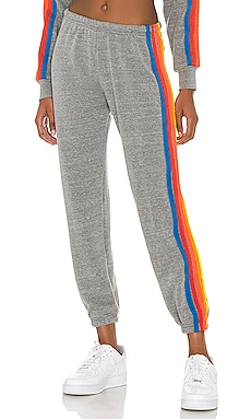 5 Stripe Sweatpant Aviator Nation $156 BEST SELLER