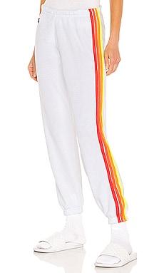 4 Stripe Sweatpants Aviator Nation $156