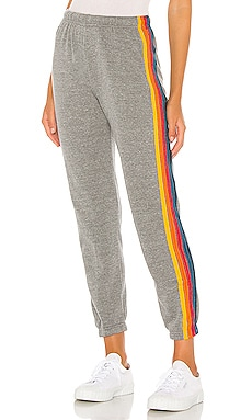 5 Stripe Sweatpants Aviator Nation $156 BEST SELLER