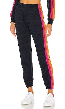 5 Stripe Sweatpants Aviator Nation $156