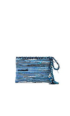 Clotho Clutch in Blue