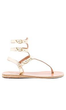 Themis Sandal in Platinum