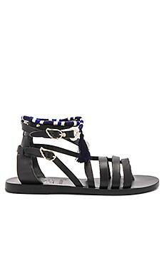 Сандалии с обхватом на лодыжке satira - Ancient Greek Sandals