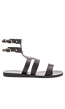 Ancient Greek Sandals Agapi Sandal in Black