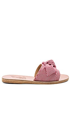 Taygete Bow Slide Ancient Greek Sandals $250 Collections