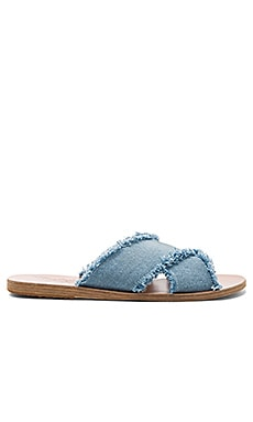 Thais Sandal in Light Denim & Light Denim