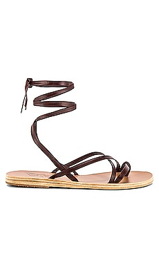 SANDALIA DE TIRAS MORFI Ancient Greek Sandals $275