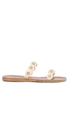 Melia Mirrors Slide Ancient Greek Sandals $285
