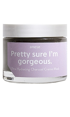 Pretty Sure I'm Gorgeous Charcoal Creme Mask anese $22