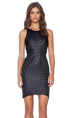 Angelys Balek Classic Corners Dress in Black