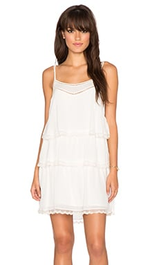 ANINE BING Layered Dress in Ivory