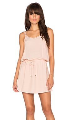 ANINE BING Sleeveless Dress in Rose