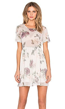 ANINE BING Loose Fit Floral Dress in Flower