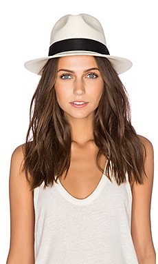 ANINE BING Panama Hat in Natural