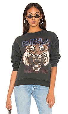 139e2bb18 Tiger Sweatshirt ANINE BING  169 BEST SELLER ...