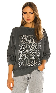 Ramona Panther Sweatshirt ANINE BING $169 BEST SELLER