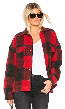 Bobbi Flannel Jacket ANINE BING $299