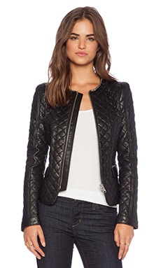 ANINE BING Quilted Jacket in Black