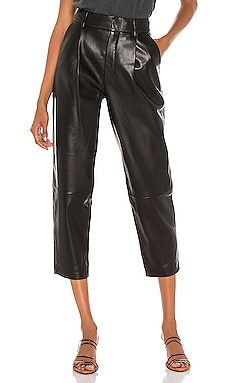Becky Leather Trouser ANINE BING $899 NEW