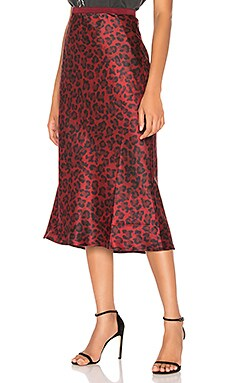 Bar Silk Midi Skirt ANINE BING $229