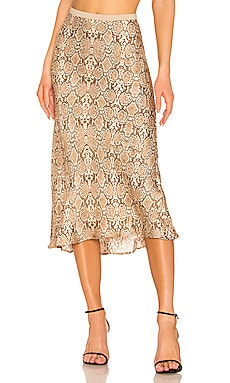 Bar Silk Skirt ANINE BING $299 NEW ARRIVAL