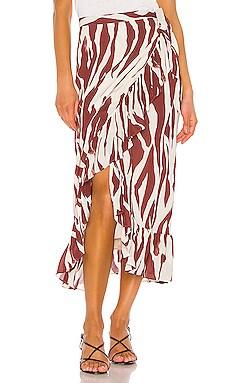 Lucky Wrap Skirt ANINE BING $150