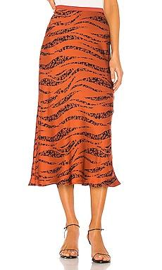 Bar Silk Skirt ANINE BING $299