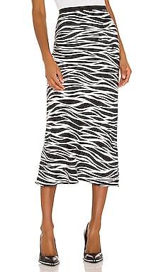 Bar Silk Skirt ANINE BING $156