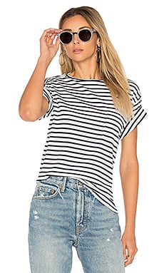 Striped Tee in Blue