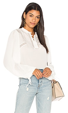 Свободная плиссированная блуза - ANINE BING