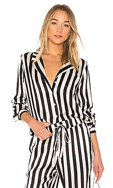 Striped Pajama Shirt