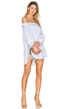 Блуза с открытыми плечами - ANIMALE