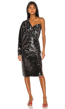 One Shoulder Sequin Dress ANOUKI $250