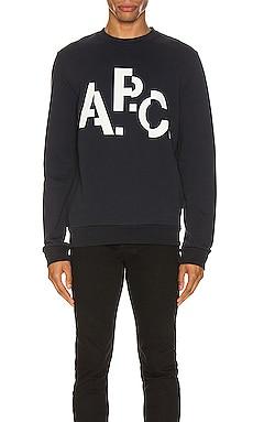 Logo Sweatshirt A.P.C. $150