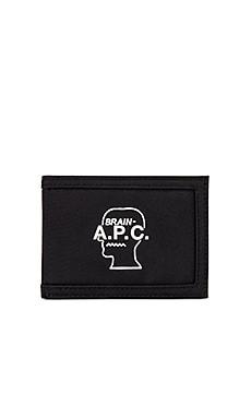 Porte Cartes Brain Dead Wallet A.P.C. $70