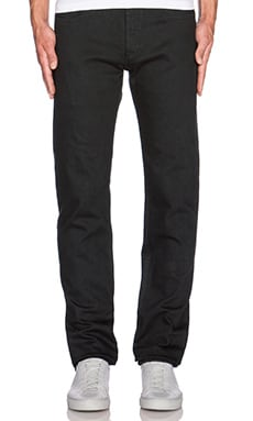 A.P.C. New Standard Stretch in Noir Lave