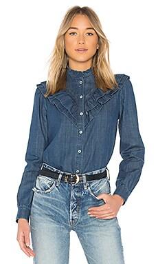 Джинсовая рубашка suzie - A.P.C.