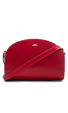 Sac Demi Lune Crossbody A.P.C. $485